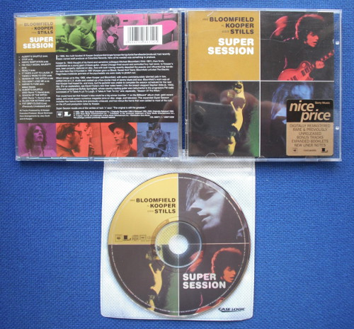 Bloomfield Super Session Columbia Cs9701 Records Vinyl