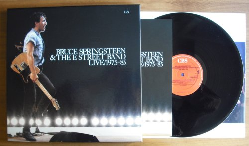 SPRINGSTEEN, BRUCE (AND THE E STREET BAND) - LIVE/ 1975-85 (5LP BOX) (used) - LP