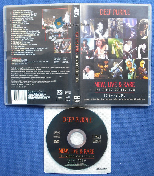 DEEP PURPLE - New Live & Rare - The Video Collection 1984-2000 (used)
