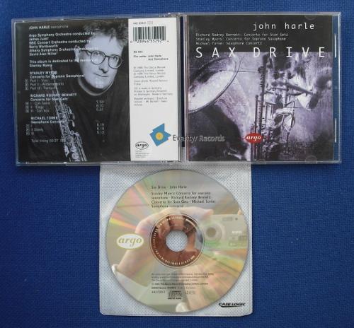 HARLE, JOHN - SAX DRIVE (used) - CD