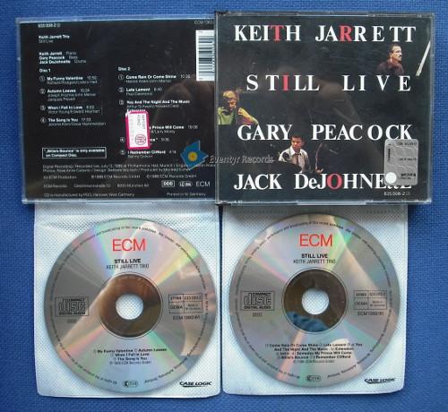 JARRETT, KEITH (TRIO) - STILL LIVE (2CD) (used) - CD