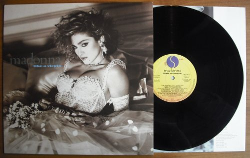 MADONNA - Like A Virgin (used)