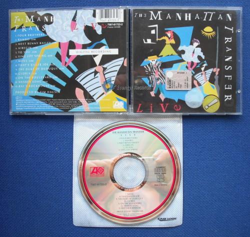 MANHATTAN TRANSFER - LIVE (used) - CD