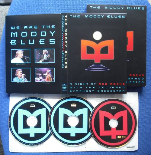 MOODY BLUES - A Night At Red Rocks With The Colorado Symphony Orchestra (dvd+2cd (used))