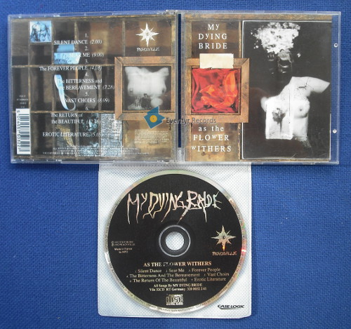MY DYING BRIDE - AS THE FLOWER WITHERS (used) - CD