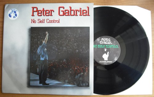 GABRIEL, PETER - NO SELF CONTROL (used) - LP
