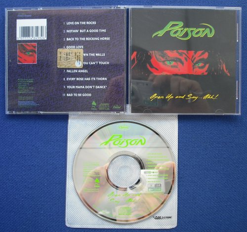 POISON - Open Up And Say…ahh! (used)