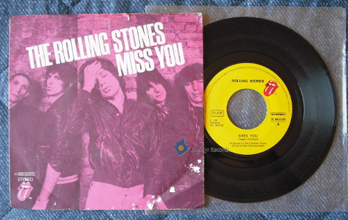 ROLLING STONES - Miss You/far Away Eyes (used)