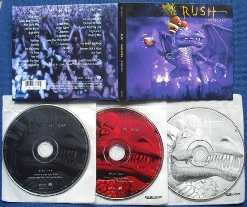 RUSH - Rush In Rio (3cd Digipack (used))