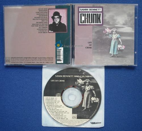 BENNETT, SAMM AND CHUNK - LIFE OF CRIME (used) - CD