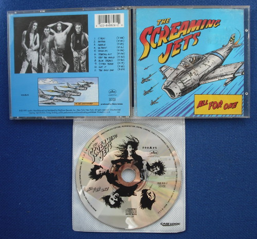 SCREAMING JETS (THE) - ALL FOR ONE (used) - CD