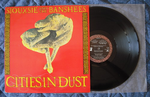 "SIOUXSIE & THE BANSHEES - Cities In Dust (12"" (used))"