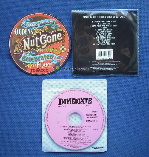 SMALL FACES - OGDEN'S NUT GONE FLAKE (used) - CD