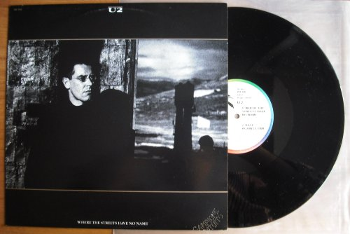 U2 - Where The Streets Have No Name (12inch (used))