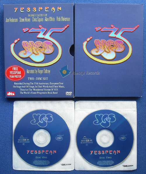 Yesspeak (2dvd) (used) by Yes, DVD with eventyrrecords